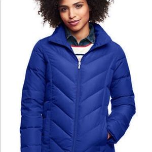 NWT Lands' End Puffer Jacket